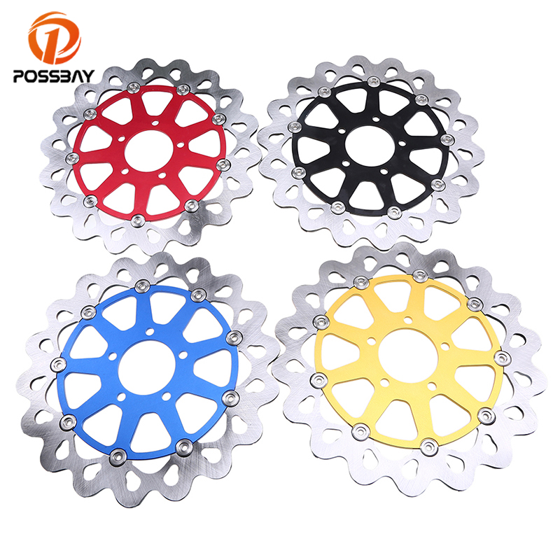 POSSBAY Motorcycle Front Brake Disc Rotor fit for Suzuki GSXR 600/750 1997-2003 TL1000R 1998-2002 TL1000S 1997-2001 Brake Disc 1 6 16v t s 120 6300 1997 2003 в беларуссии