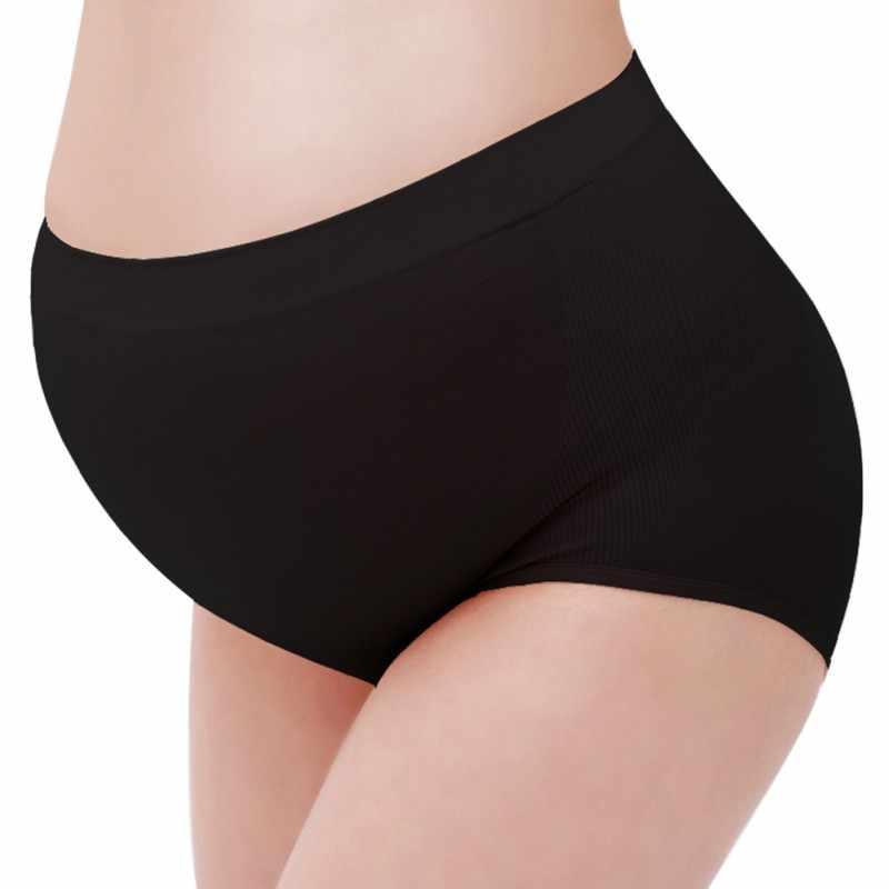 d365c7025cd45 Maternity Underwear Panties Soft Solid Color Cotton High Waist Briefs  Pregnant Women Panties Clothes Lingerie Briefs