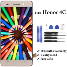 5' For  Honor 4C G Play mini LCD Display Assembly Replacement With Touch Screen For  Honor 4C LCD With Tools цена 2017