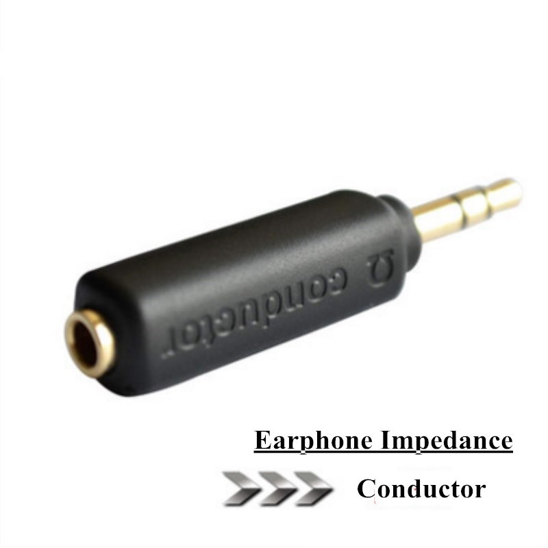 DUNU Conductor Earphone Impedance Plug 75 150 200 ohm Noise Cancelling Adapter 3.5mm Jack Professional Reduce Noise Filter Plug