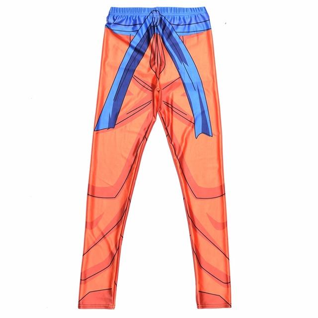 Dragon Ball Super Son Goku Cosplay Printed Fitness Workout Women Leggings
