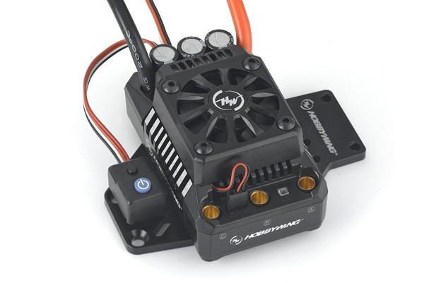 Hobbywing EzRun Max6 / Max5 V3 160A / 200A Speed Controller Waterproof Brushless ESC for 1/6 1/5 RC Car