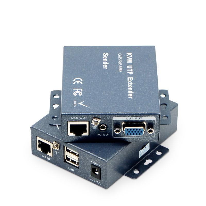 KVM удлинитель, VGA удлинитель, поддержка DVR беспроводной USB, Молниеносная защита