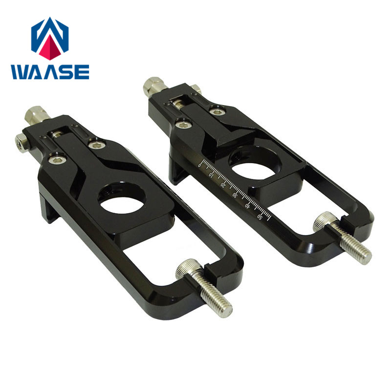 waase Motorcycle Chain Adjusters Tensioners Catena For Yamaha YZF R1 R1S R1M 2015 2016 2017 MT-10 MT10 FZ-10 FZ10 2016 2017