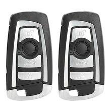 2Pcs 4 Button 315Mhz Remote Flip Key W/ Id46 Chip Cas2 For Bmw E39 E46 X5 X3 Z3