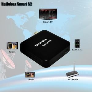 Image 1 - Hellobox Smart S2 Empfänger Satelliten Mobile /Tablet/Smart TV/OTT BOX Spielen Satellite Finder DVBS2 Android/IOS Satellite empfänger