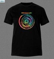 GILDAN PENDULUM DRUM AND BASS ELECTRONIC ROCK MUSIC AUSTRALIA T Shirt Brand Cotton Men Male Slim