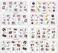 hello kitty 10pcs/lot nail sticker/3D water transfer sticker/ nail decals/ 3D nail decals/ / BOP nail sticker 4 in 1