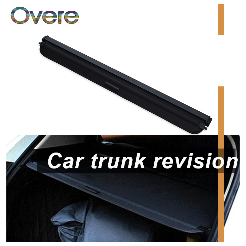 Overe 1Set Car Rear Trunk Cargo Cover For Honda Vezel / XR-V / HR-V Car-styling Security Shield Shade Retractable Accessories