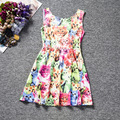 girls autumn sundress cartoon cat dog rabbits candy dress costumes toddler girl clothing 3 4 5 6 baby frock designs fancy frocks