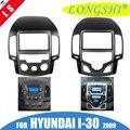 Автомобильный облицовка аудио Панель рамки Даш Комплект для hyundai i30 2007 2008 2009 2010 2011 2012 2013 (поскольку мерки снимаются вручную/авто переменного ...