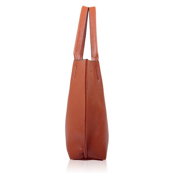 BVLRIGA Women leather handbags designer big shopping bag high quality shoulder bag famous brand totes female black women bag