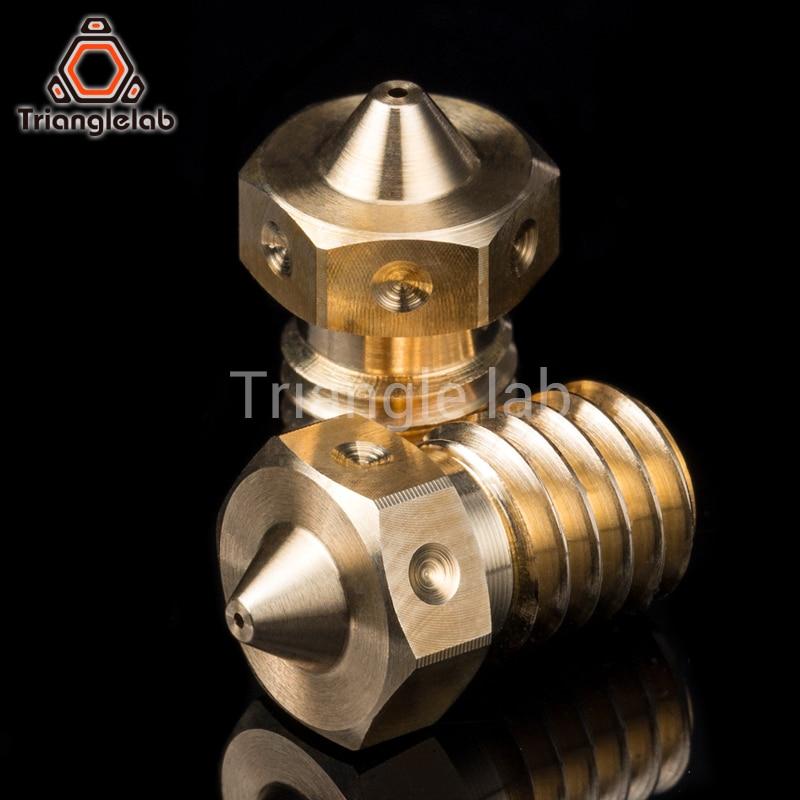 trianglelab Top quality V6  Nozzles for 3D printers hotend 4pcs/lot 3D printer nozzle for E3D Nozzles hotend titan extruder