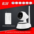 Onvif IP Camera Wi-fi Wireless Security Web Camera + PIR Motion Sensor Home CTV Wifi Cameras de seguridad p2p BWIPC14