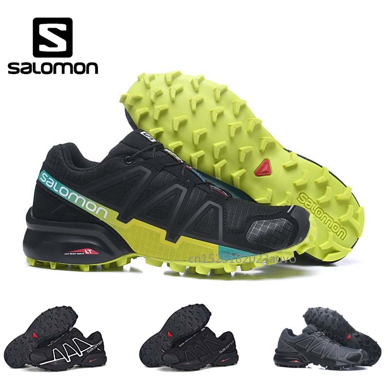 77b6077e2 Salomon Men Cross-country Shoes Men Shoes Running Shoes Black Speedcross 4  Jogging