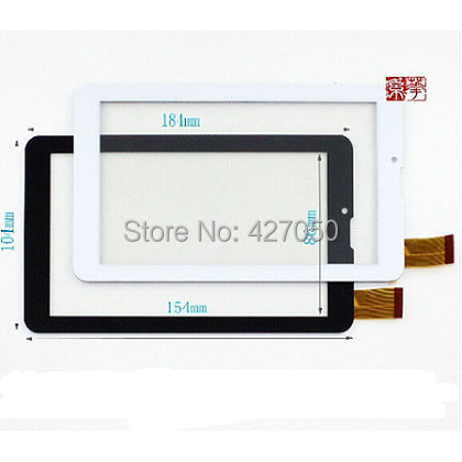 Wtblue New For 7 TESLA NEON 7.0 / Explay Hit 3G Tablet Touch Screen Digitizer Touch Panel Glass Sensor SCF0706-A Replacement tesla neon blanc 7 0 3g gold