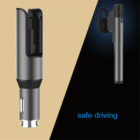 Wireless Original 2 in 1 Car Charger Bluetooth Earphone Headset Emergency Hammer for Huawei Mate 9 Pro USB Car Charging Adapter