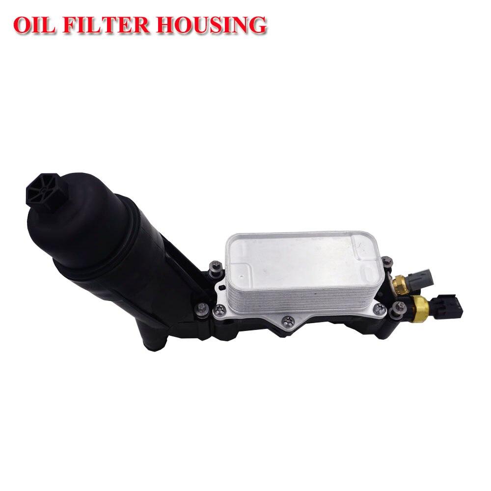 Logement d'adaptateur de filtre à huile de moteur pour Jeep pour Dodge Chrysler 3.6 V6 2014-2017 68105583AF 68105583AB