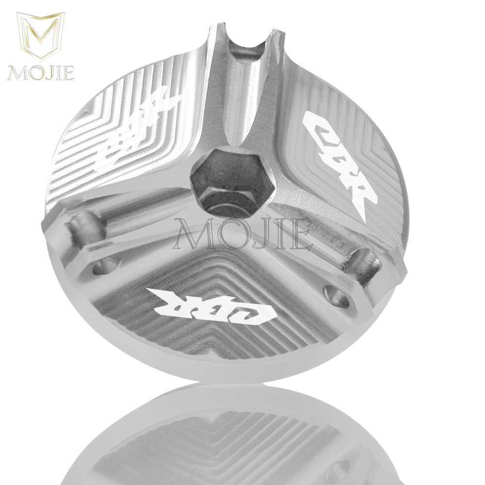 M20 * 2.5 Motorfiets Olie Drain Carterplug Aluminium Motor Filler Tank Cap Cover Voor Honda CBR400 NC19 MC17 MC22 MC23 MC29 MC30 MC31