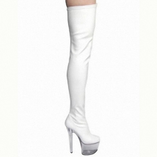 necessary 15cm super slim and sexy boots model runway shows shoes Noble temperament knee high boots - 6
