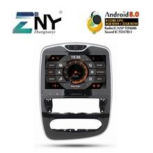 10.1 «HD Android 8.0 voiture GPS stéréo pour Renault Clio 2013 2014 2015 2016 2017 2018 Auto Radio FM RDS WiFi BT Navigation pas de DVD