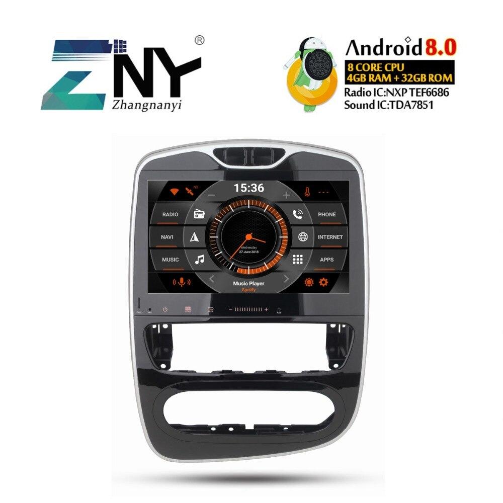 10.1 HD autoradio android Pour Renault Clio 2013 2014 2015 2016 2017 2018 auto-radio FM RDS navigation gps caméra arrière Aucun DVD