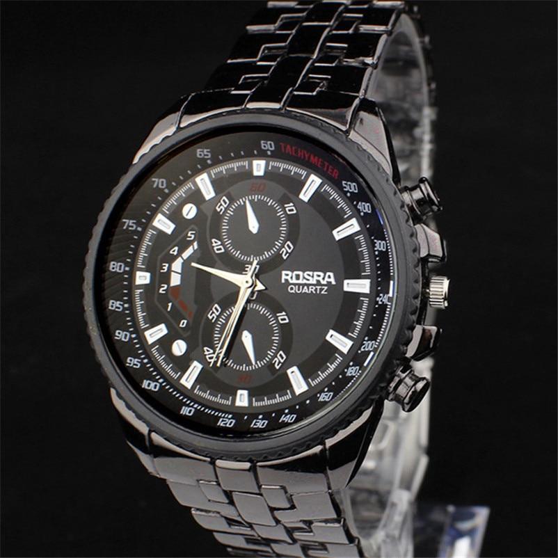 где купить  New Boutique Watch Hot Stainless Steel Men Watch Quartz Man Business Sport Watches Luxury Brand Military Casual Hour wholesale d  по лучшей цене