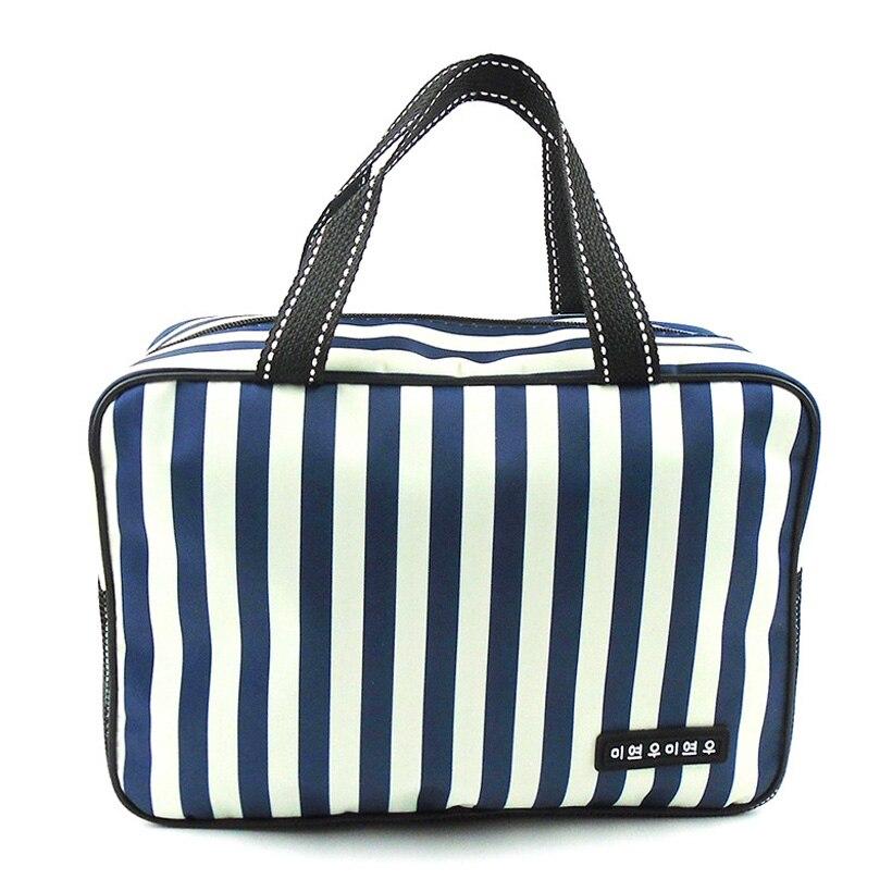 Outdoor Waterproof Men's Women's Stripe Handbag Swimming Travel Bags Large Capacity 20*10*28cm