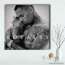 a16007615f1ec Custom Chris-Brown (1) Poster Cute dolphins Printing Posters Cloth Fabric  Wall Art Pictures For Living Room Decor#18-01-15-125