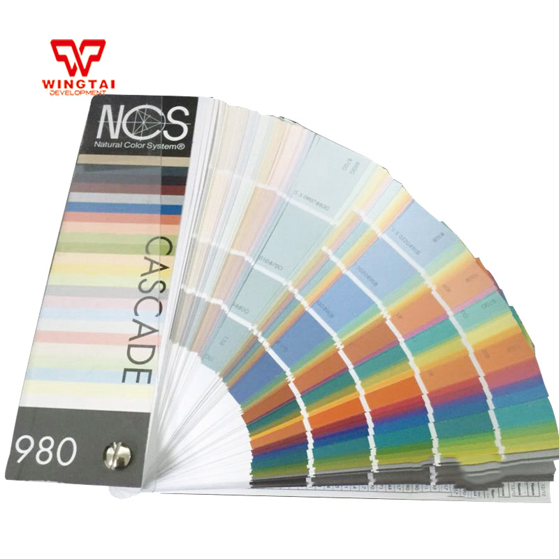 NCS Color Guide 980 stripe coated standard Sweden NCS colours book spectral br1501 v2 ncs s1580 r pult