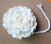 Сола цветок с верёвочкой для Frangrance диффузор 100 pcs/lot моделирование растение для тростниковый диффузор воздушный освежитель воздуха
