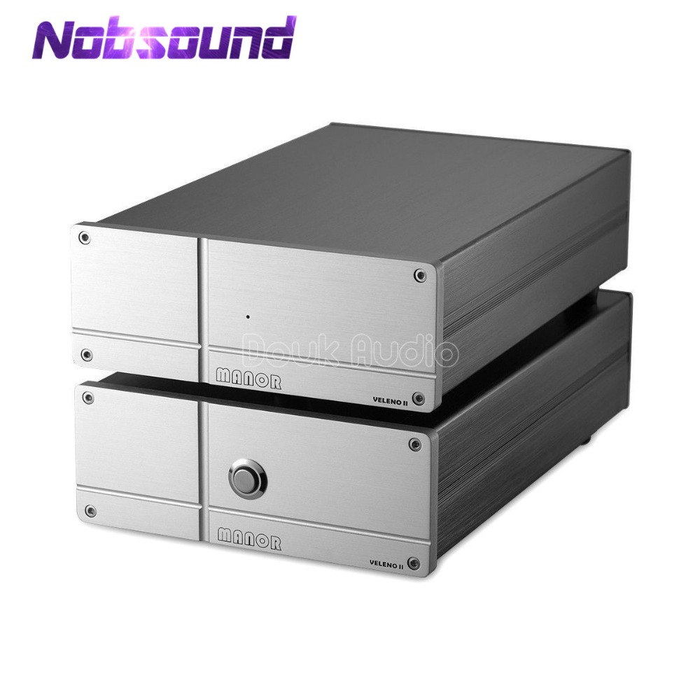 Nobsound Hi-end LP Vinyl Turntable MM/MC RIAA Phono Amplifier Preamp Class A Direct Coupling Output Pre-Amplifier eden wtdi direct box preamp