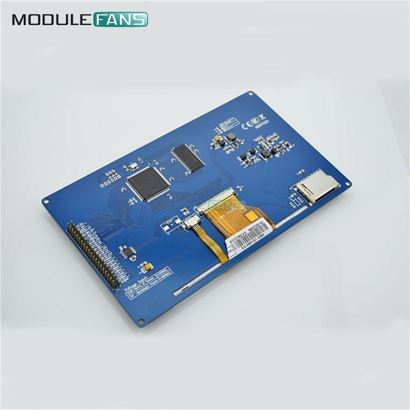 Neue 7 zoll Tft Lcd Modul 800x480 Ssd1963 Touch Pwm Für Arduino Avr Stm32 Arm 800*480 800 480 Digital Control Board Elektronische Bauelemente Und Systeme Optoelektronische Displays