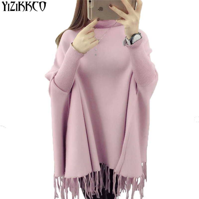 Горячая Продажа 2016 Женщин Свитер Деформация Свинг 3 Цвета Плюс размер Супер Фан Taaae Мода Пуловеры Sweter Mujer Женщины Пончо SZQ066