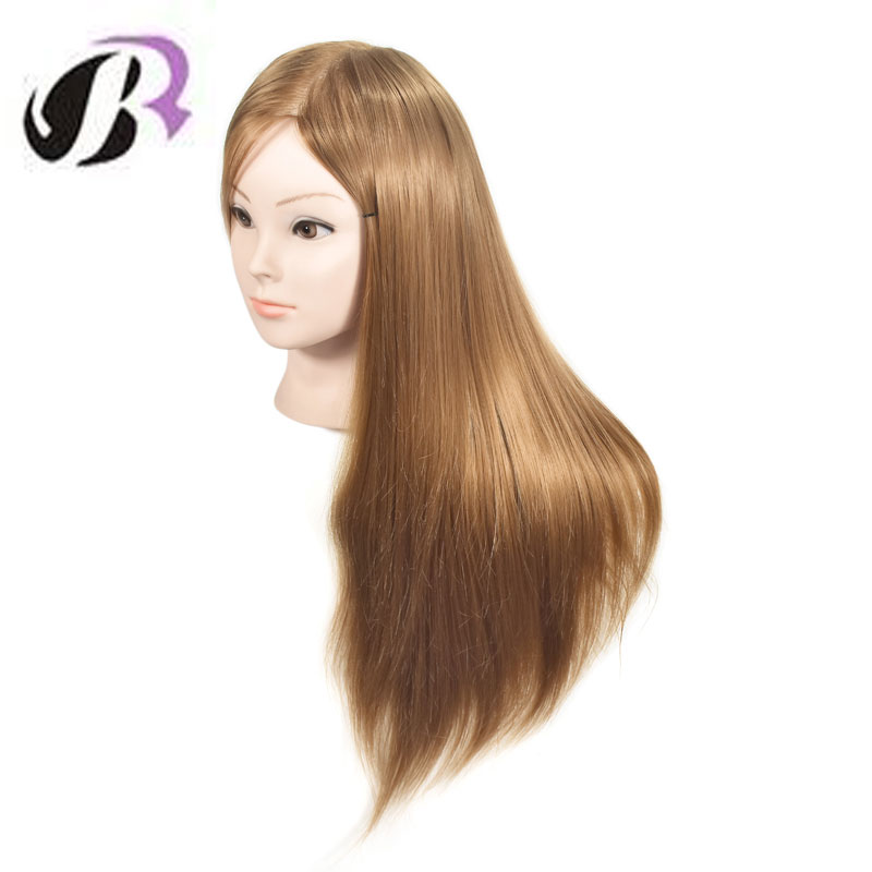 Mannequin Head Hairdressing Practice Heads Hair Maniqui Maniquies Women Educational Training Hairdresser Styling Head wig stand