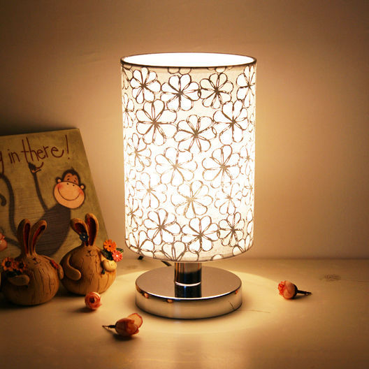 small bedroom lamp modern pastoral style small table lamp desk lamp bedroom 13243