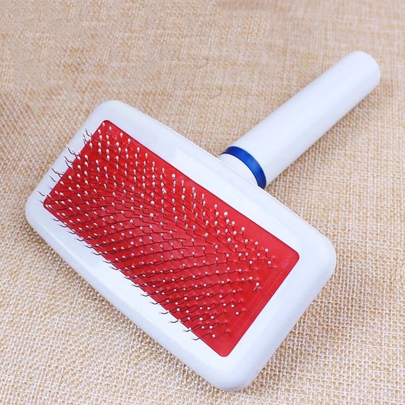 Pet Dog Brush Cat Brush Slicker Pet Grooming Brush Shedding Grooming Tools Gently Removes Loose Undercoat for Long & Short Hair