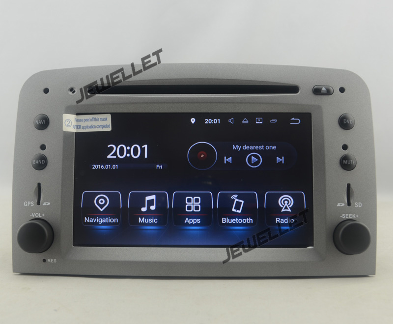 Quad core Android 7.1 Dell'automobile DVD GPS radio di Navigazione per Alfa Romeo 147 GT con 4g/Wifi DVR OBD collegamento specchio 1080 p