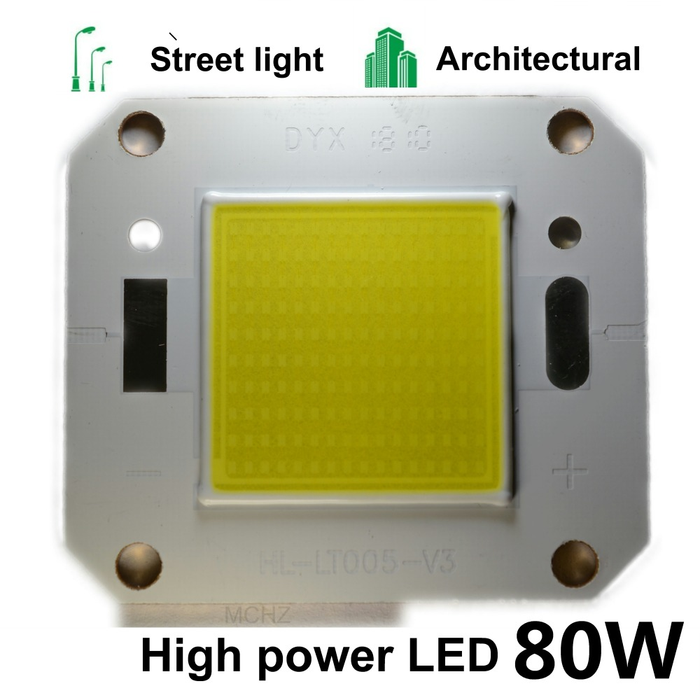 2PCS LED COB Beads Chip High Power Brightness 20W 30W 50W 70W 80W Need Driver DIY For Floodlight Lamp Spot Light LED COB Chips