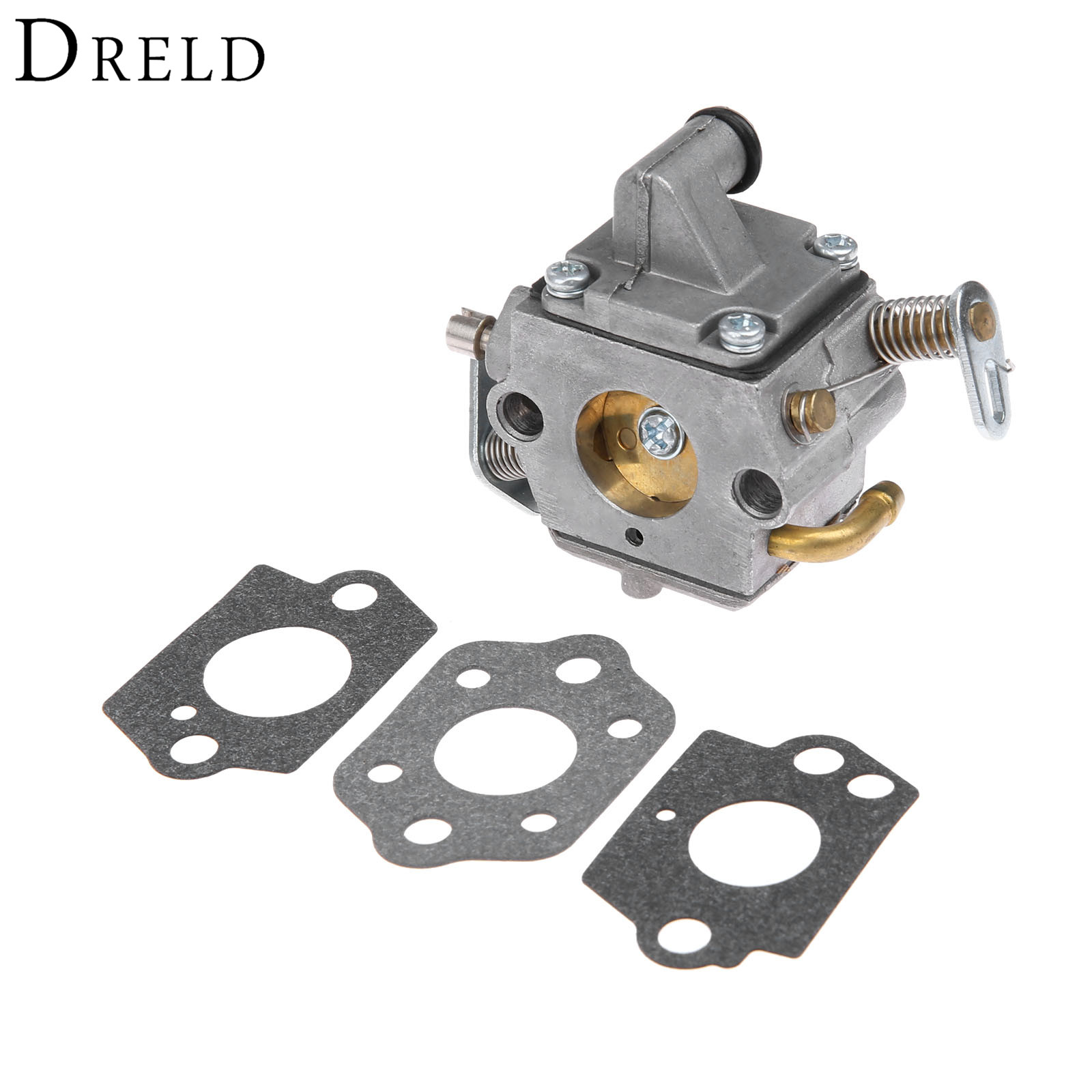 DRELD Chainsaws Carburetor Carby Gasket for Stihl MS170 MS180 MS 170 180 017 018 Replace Carb for Zama C1Q-S57B 1130 120 0603 бензопила stihl ms 180 14