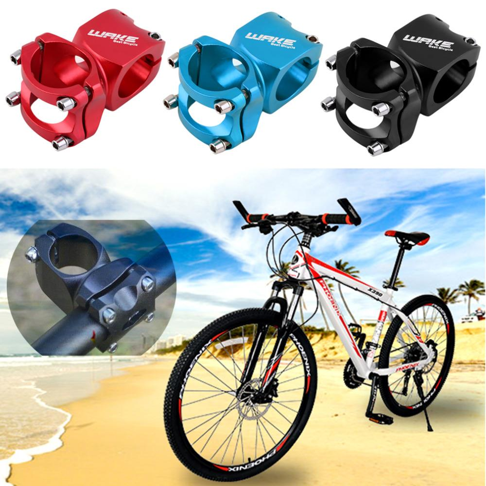 US $6 67 |Aluminium Alloy Cycling Bike Stem 31 8mm Bicycle Parts Handlebar  Stem Road MTB Mountain Adjustable Bicycle Stem drop shipping-in Bicycle