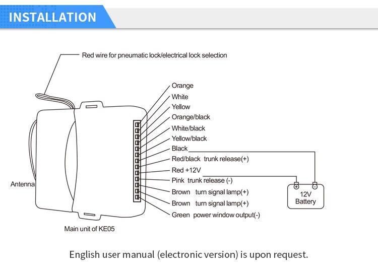 EASYGUARD Универсальный Авто бесключевая система входа ключи для удаленной блокировки автомобиля Дистанционное открытие багажника дистанционного обнаружения автомобиля 433,92 МГц