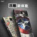 Huawei Honor 7 Case estéreo 3D pintura alivio contraportadas de silicio de la historieta TPU Cases Honor7 protectora del teléfono bolsa