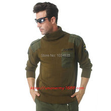 101 Airborne Cotton Cashmere Sweater US Air Force Pilot Hawk Style Army Warm Turtleneck Sweaters 2 Colors