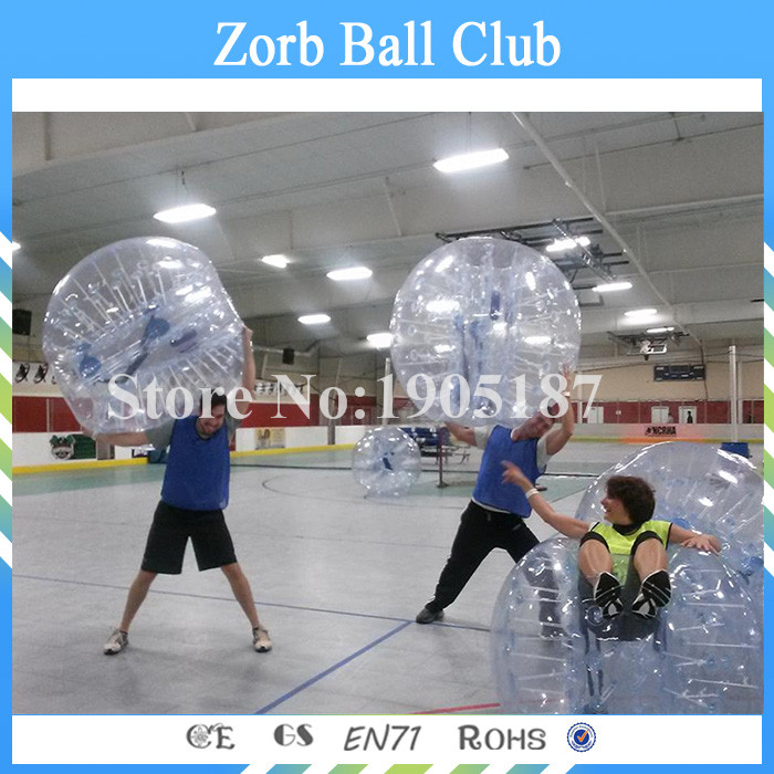 Free Shipping 3pcs a Lot Inflatable Bumper Ball,Soccer Bubbles,Bubble Football On Sale