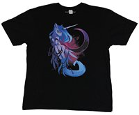 2017 New Arrival Funny Mens Tops Cool O Neck T-Shirt My Little Pony Mens T-Shirt - Princess Luna Fancy Crescent Moon Image