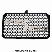 MKLIGHTECH FOR YAMAHA YZF-R25 YZF R25 2015-2019 Aluminum Motorcycle Radiator Guard Grille Protection Water Tank