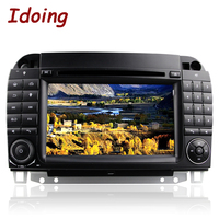 Idoing 2Din Steering Wheel For MercedesBenz CL55 600 Car DVD Multimedia Video Player Head Devicecar Android7