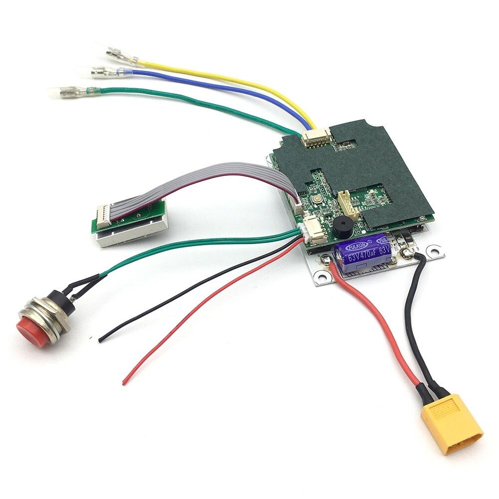 Substitut avec Scooter à distance Longboard pièces de carte mère électrique accessoires de contrôleur de planche à roulettes outils double moteur Instrument