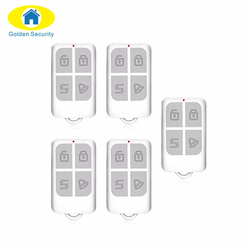 Golden Security RC531 Wireless Portable Remote Control Home Alarm System control for G18 G19 8218G GSM alarm system new wireless high performance portable remote control 4 buttons for kerui g18 g19 w1 w2 k7 home alarm system